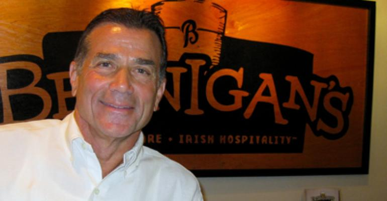 Q&A: Paul M. Mangiamele of Bennigan's Franchising Co.