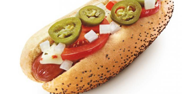 Sonic's new hot dog spices up popular menu line