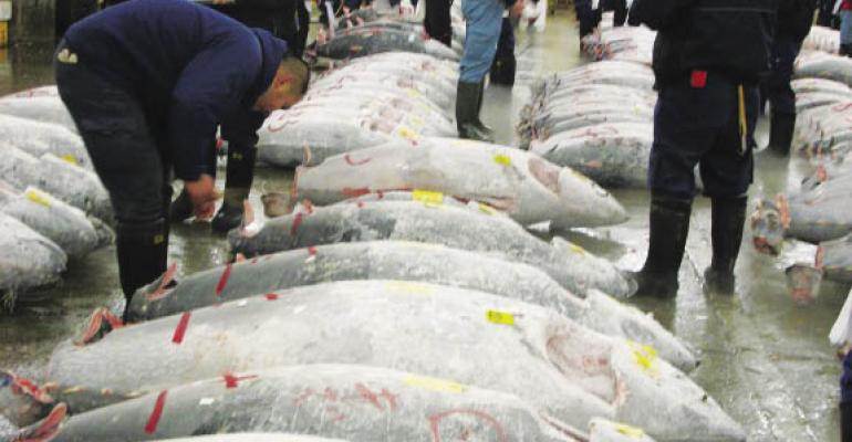 Chefs weigh pros and cons of serving prized bluefin tuna