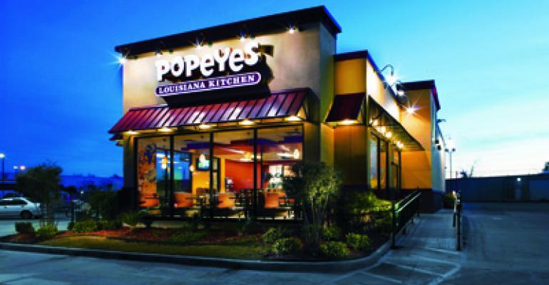 Popeyes 2Q sales positive, unit growth ahead