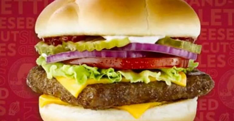 Meet Wendy's new burgers