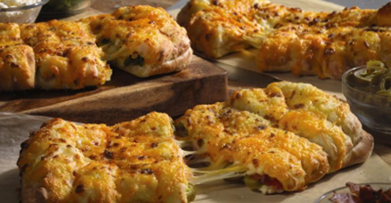 Domino's debuts Stuffed Cheesy Bread