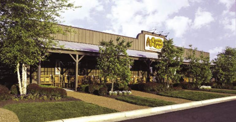Cracker Barrel's fork in the road