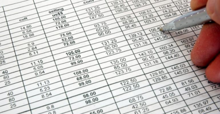 Stock spreadsheet