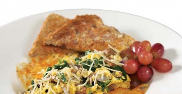 Restaurants make over breakfast for dinner
