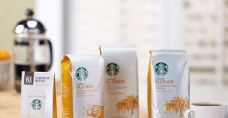 Starbucks Blonde Roast makes national debut