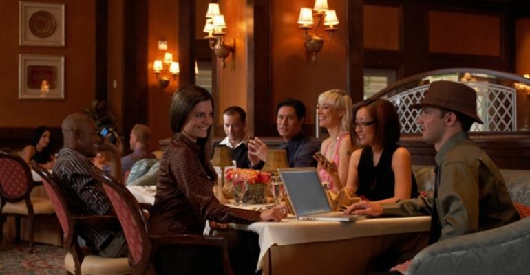 Restaurant stock image