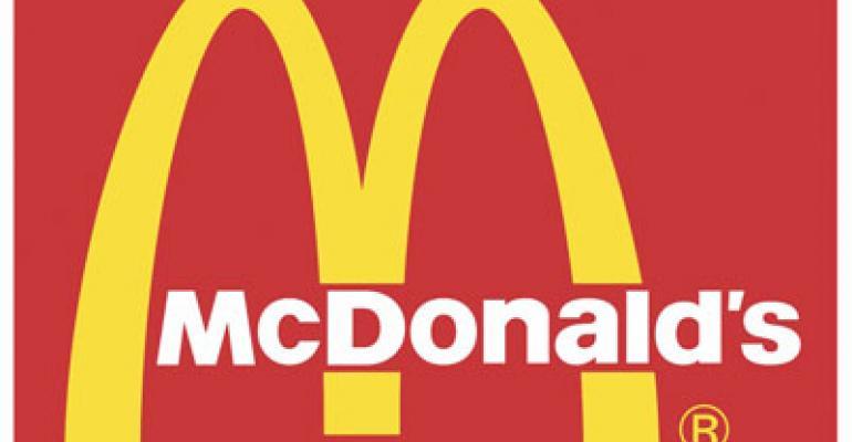 McDonald's global January comps up 7%