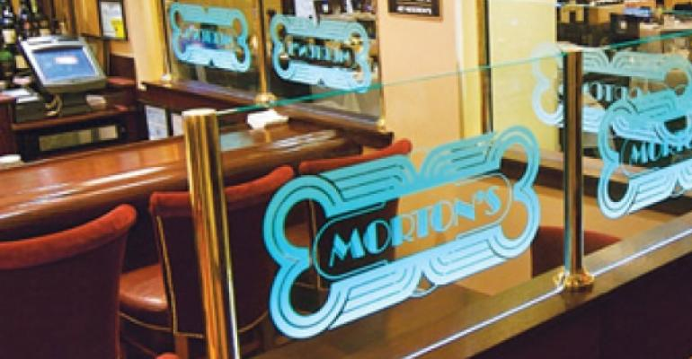 Landry's shutters eight Morton's restaurants