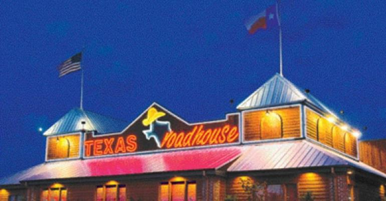 Texas Roadhouse net income up 22% in 4Q