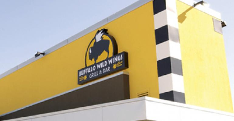 Buffalo Wild Wings 1Q revenue up nearly 40%