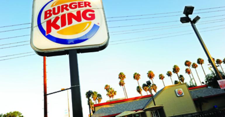 Burger King eager to take on McDonald's