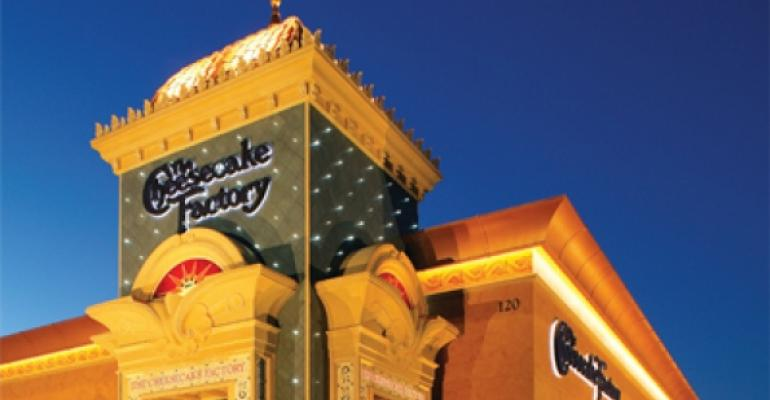 MenuMasters 2012: The Cheesecake Factory