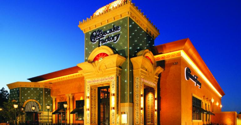 The Cheesecake Factory explores overseas growth