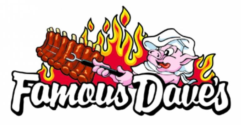 Famous Dave's: Gas prices contributed to 1Q traffic decline