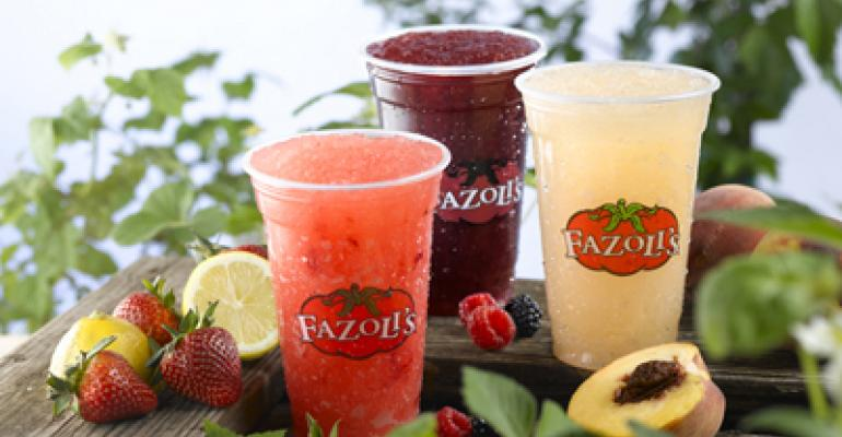 Fazoli's expands Lemon Ice line