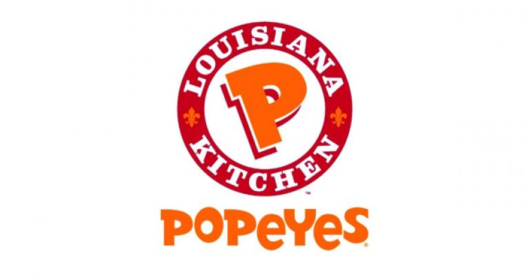 Popeyes pursues growth in 40th year