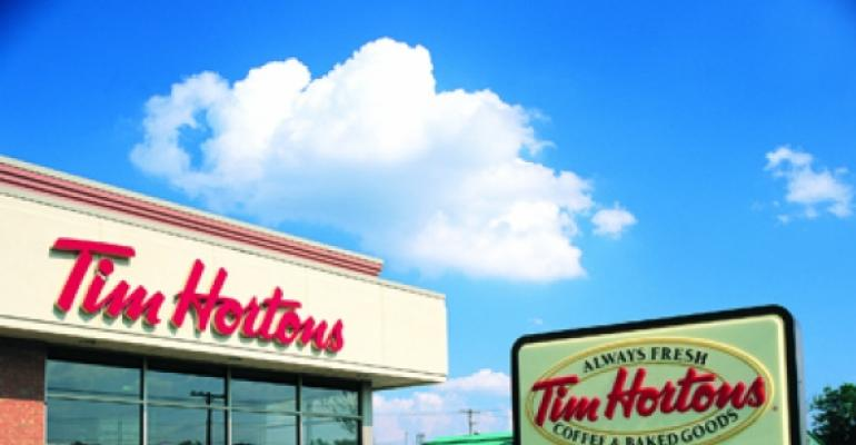 Tim Hortons to sell Cold Stone ice cream at Canadian drive-thrus