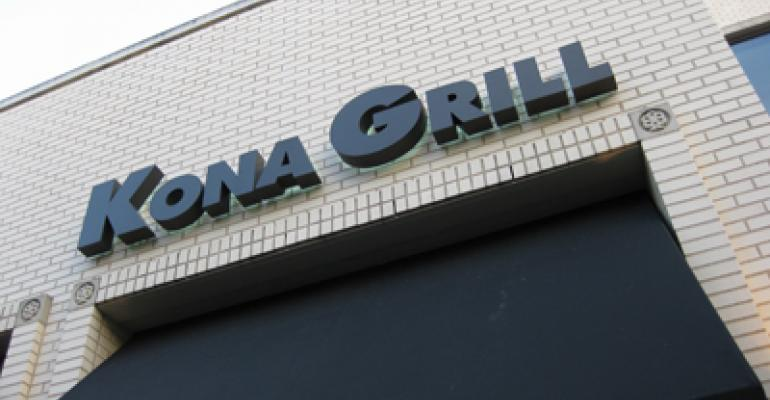 Kona Grill swings to 1Q profit on increased sales