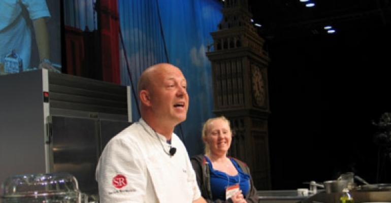 Stefan Richter shares recipes, opinions at NRA Show