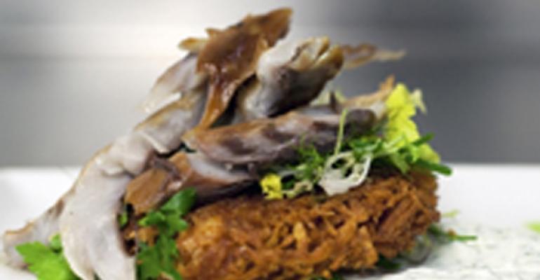 Almong bluefish