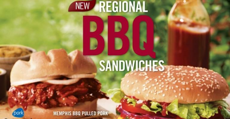 Burger King launches barbecue-inspired summer menu