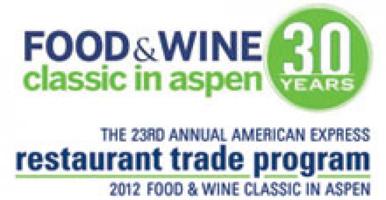 Preview: 2012 Food & Wine Classic in Aspen