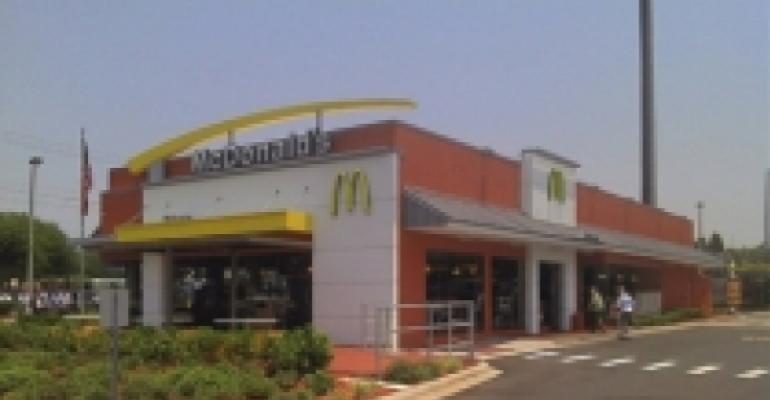 McDonald's same-store sales reflect deflating consumer confidence