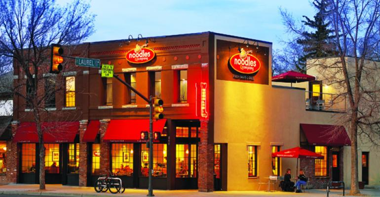 Noodles & Co. tests new service format
