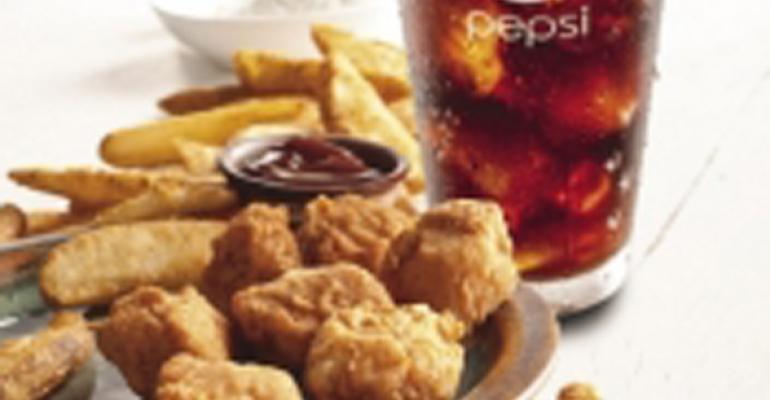 KFC chicken bites