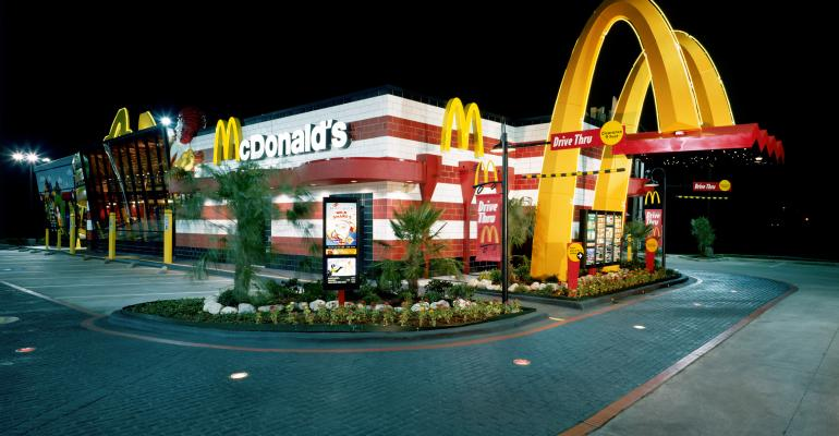 McDonald's same-store sales miss in July