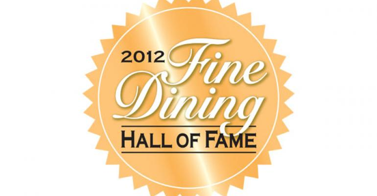 Meet Fine Dining Hall of Fame's class of 2012