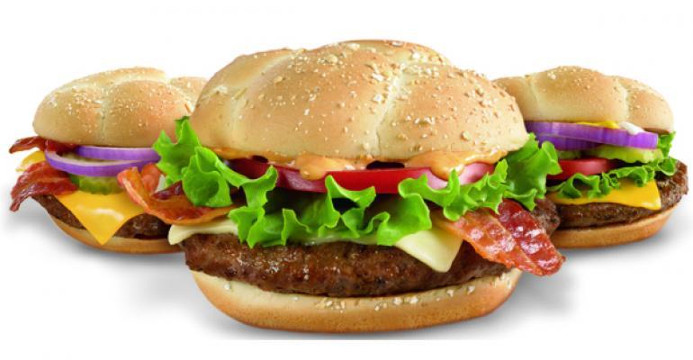 McDonald's tests variations on Quarter Pounder, McMuffin