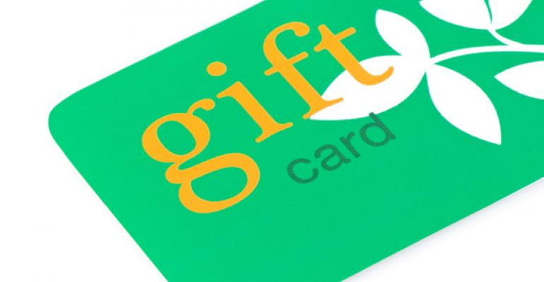 Restaurant gift card competition ramps up