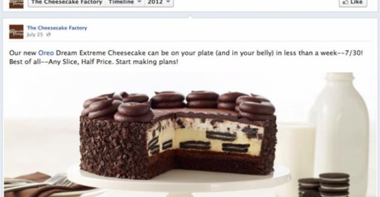 Expion ranks restaurants on Facebook consistency