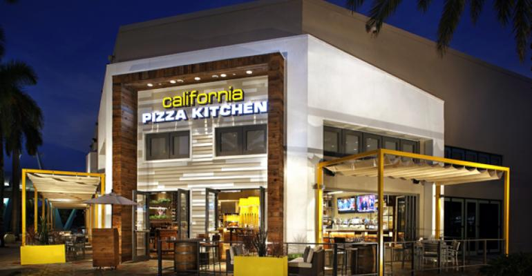 California Pizza Kitchen Plain Pizza