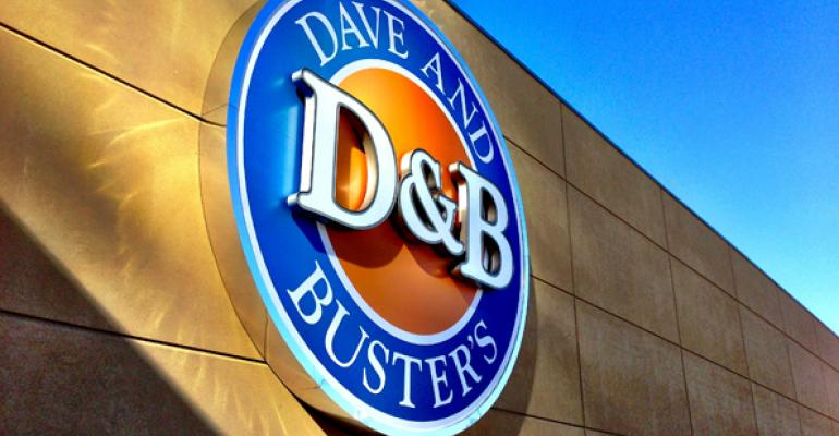 New Dave & Buster's flagship emphasizes sports bar
