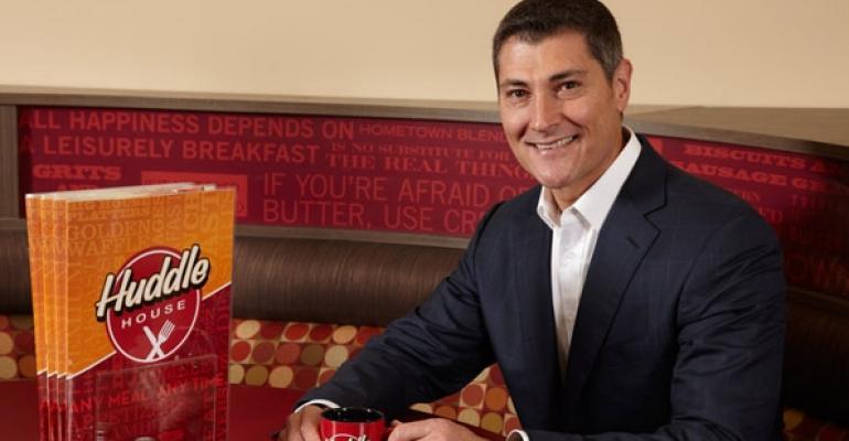 Michael Abt new chief executive at Huddle House