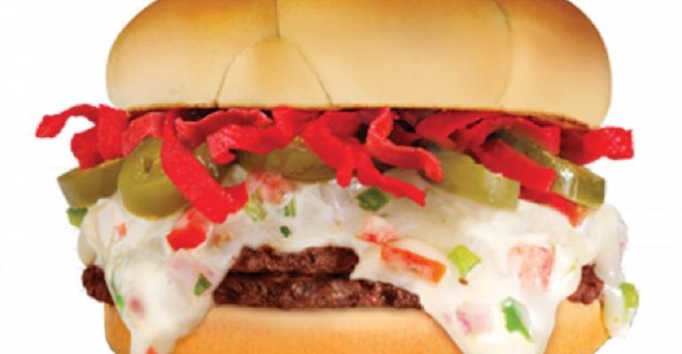 Santa Fe Steakburger at Steak n Shake