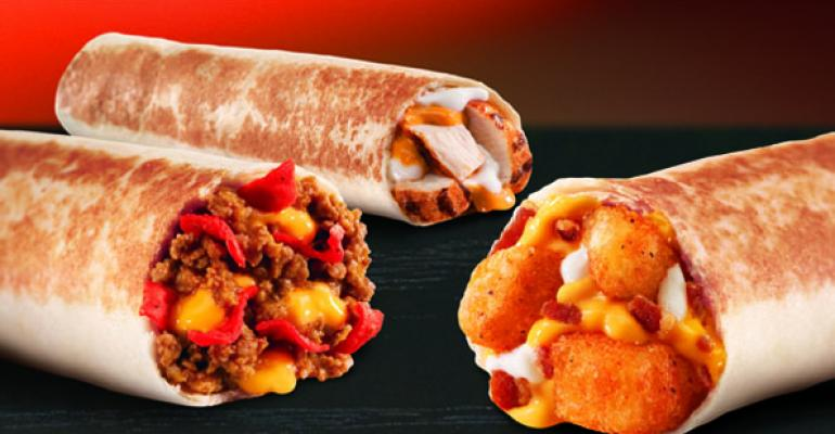 Taco Bell rolls out Loaded Grillers snack line