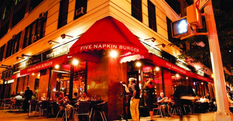 Breakout Brands: 5 Napkin Burger