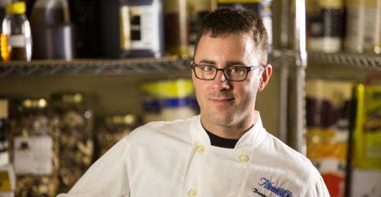 Danny Levesque head chef at Atlantic Fish Co