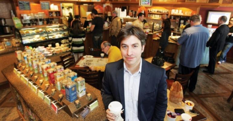 Coffee Bean  Tea Leaf chief executive Mel Elias