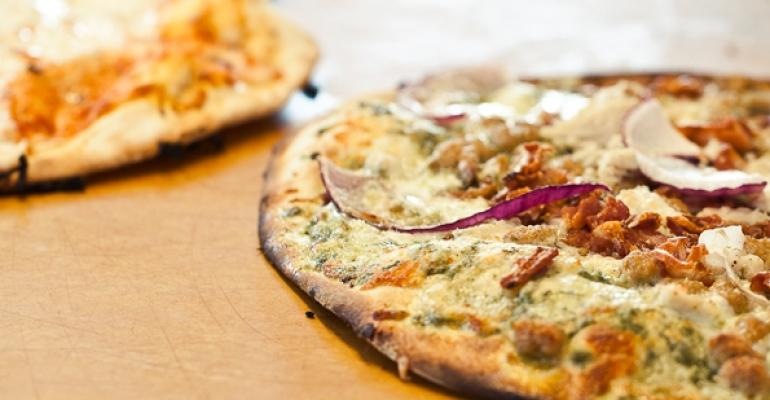 Customized pizzas at MOD Pizza