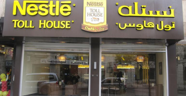 Nestle Toll House Café adapts to Middle Eastern consumers