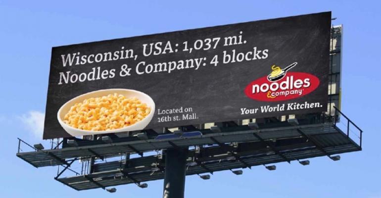 Noodles  Co Billboard
