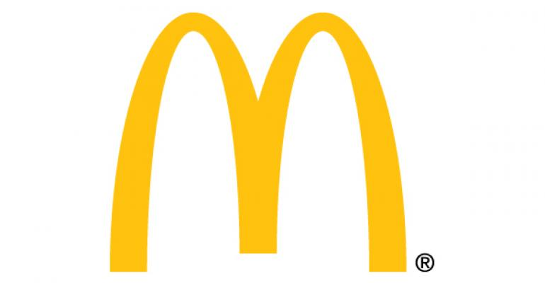 McDonald's global same-store sales decline in January
