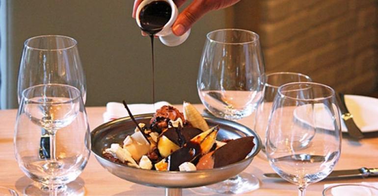 Restaurants supersize dessert