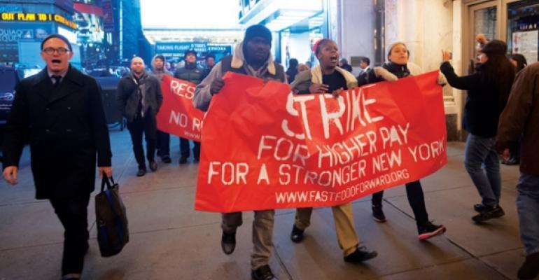 Fast Food Forward strike in New York