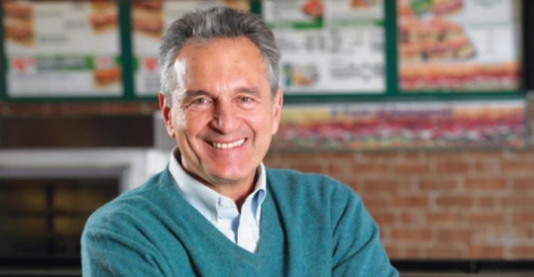 Subway cofounder and president Fred DeLuca
